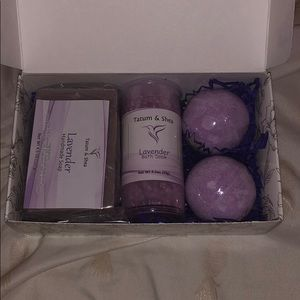 Lavender bath and body
